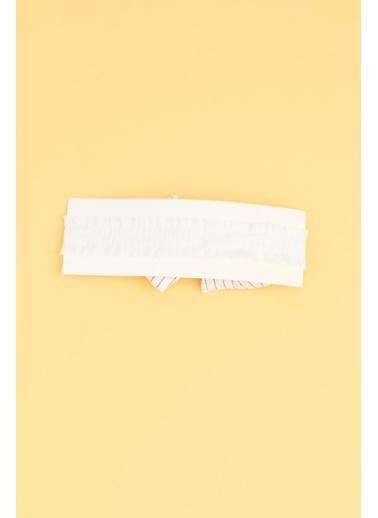 BG Baby Kız Çocuk Beyaz Saç Bandı 19SS0BG2073 Beyaz